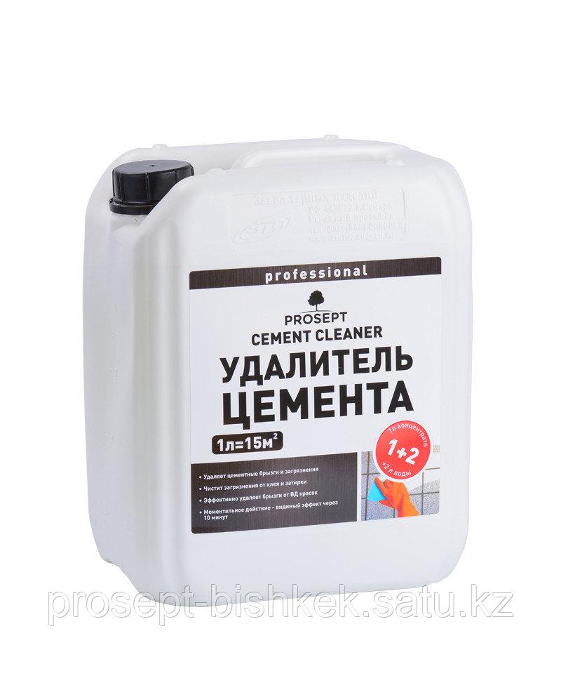 Удалитель цемента концентрат 1:2,022-5 CEMENT CLEANER (ЦЕМЕНТ КЛИНЕР)-5 л.=75м2