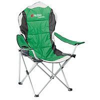 Кресло складное с подлокотниками и подстаканником 60/60/110/92//PALISAD Camping