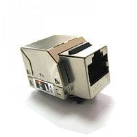 LinkBasic Розеточный модуль 5е FTP 1xRJ45 Keystone jack 90о , фото 1