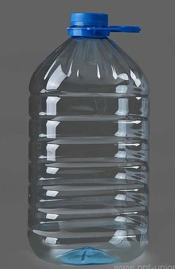 ПЭТ бутылка, Ёмкость: 5л.