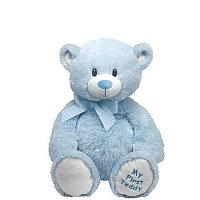 Мягкая игрушка Медвежонок My First Teddy (голубой), 20 см