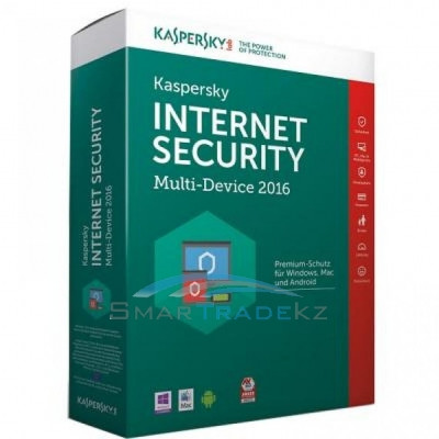 Антивирус Kaspersky Internet Security 2017 Multi-Device 2Dvc - ТОО «Smart Trade KZ» в Астане