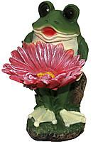 Статуэтка Лягушонок с цветком Н-33см