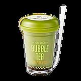 Bubble Tea Sleeping Pack Green Tea [Etude House], фото 2