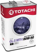 Трансмиссионное масло Totachi Extra Hypoid Gear 80W-90 4 литра