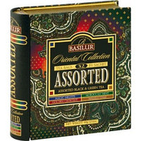 Basilur черный чай Oriental Collection Assorted, 36 пакетиков