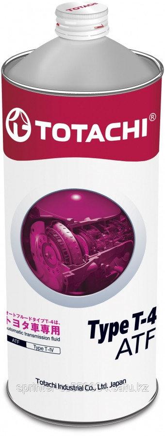 Трансмиссионное масло Totachi ATF TYPE T-4 1 литр