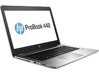 HP ноутбук ProBook 440 G4 i3-7100U 14.0 4GB/500 Camera Win10 Pro