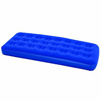 Матрас надувной Flocked Air Bed 185*76*22см, цв. синий Bestway (67000N), 875-058