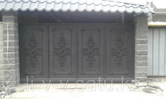 Ворота консольные автоматические