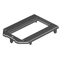 OBO Bettermann Рамка для электроустановочных изделий Modul45 147x76 мм (полиамид,черный)