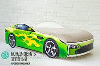 Кровать-машина БОНДМОБИЛЬ, фото 5
