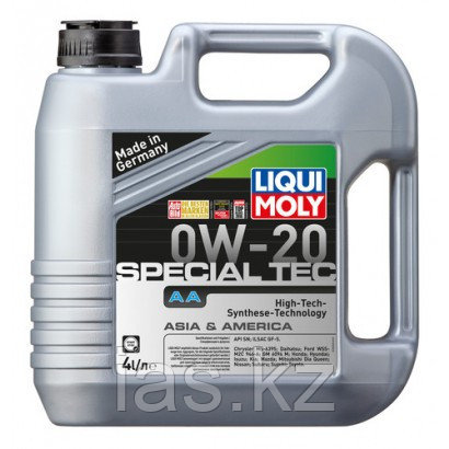 Моторное масло LIQUI MOLY SPECIAL TEC AA 0W-20 4 литра