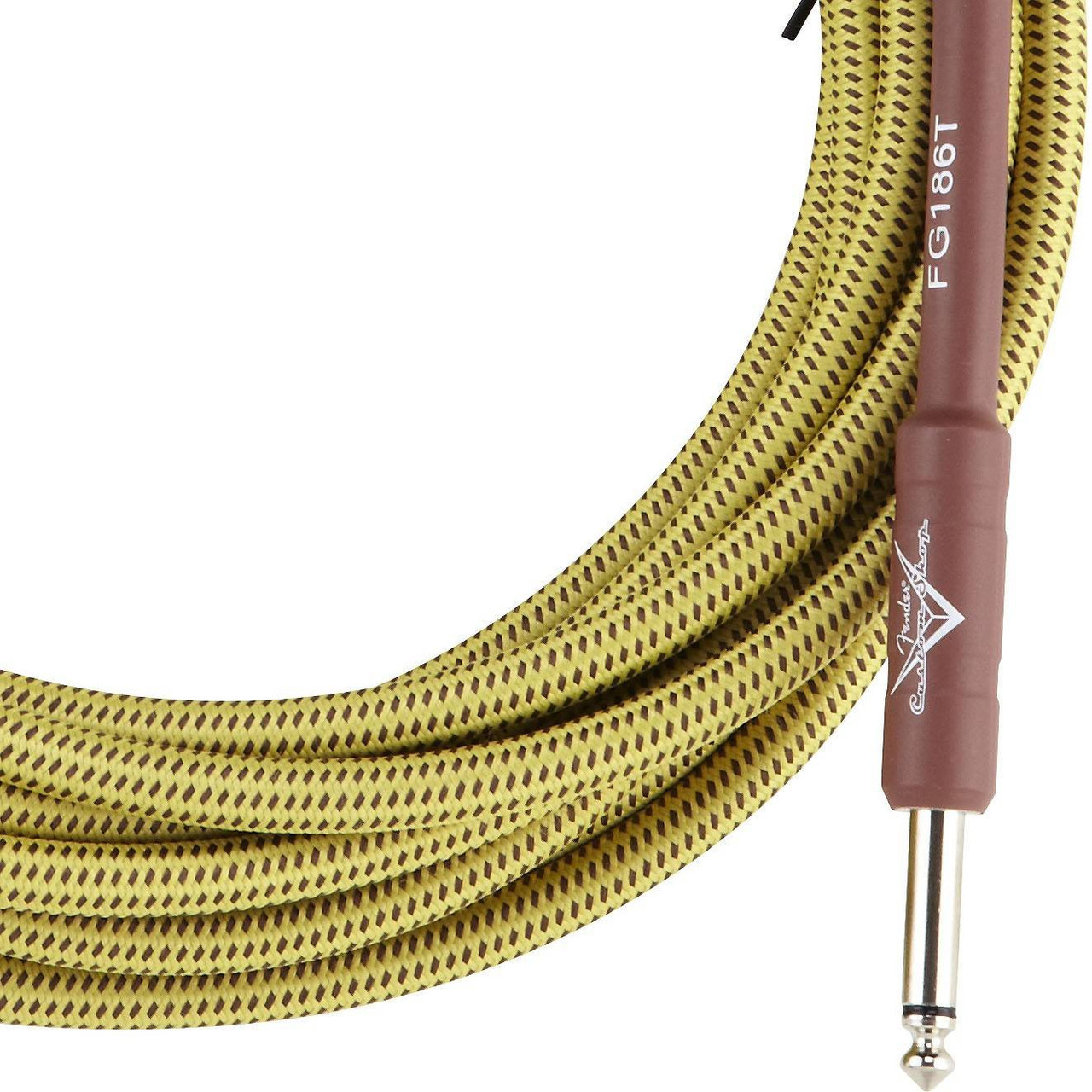 FENDER CUSTOM SHOP 10` INSTRUMENT CABLE TWEED