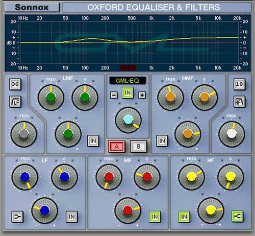 SONNOX Oxford Plugins GML option HD-HDX