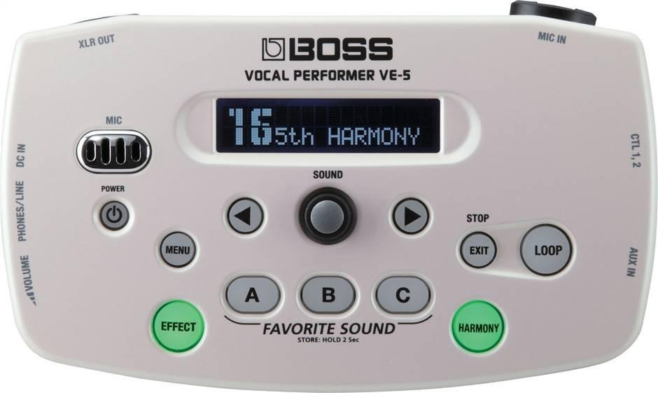 BOSS VE-5-WH
