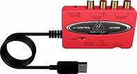 Behringer UCA222 - USB-аудио-интерфейс для записи и воспроизведения звука, 16 бит/48 кГц