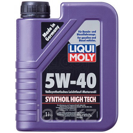 Моторное масло LIQUI MOLY SYNTHOIL HIGH TECH 5W-40 1 литр