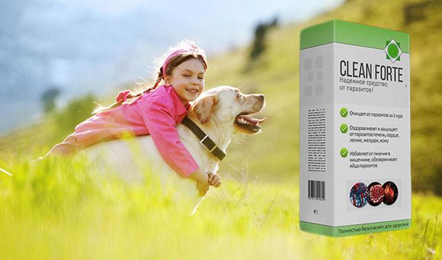 Clean Forte (Клин Форте) - средство для борьбы с паразитами