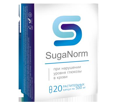 SugaNorm (Шуганорм) - капсулы от диабета