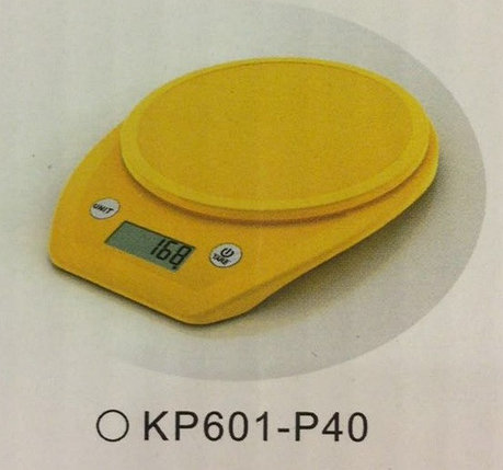 Весы кухонные  Electronic Kitchen Scale - KP601 Жёлтые КР601-Р40, фото 2