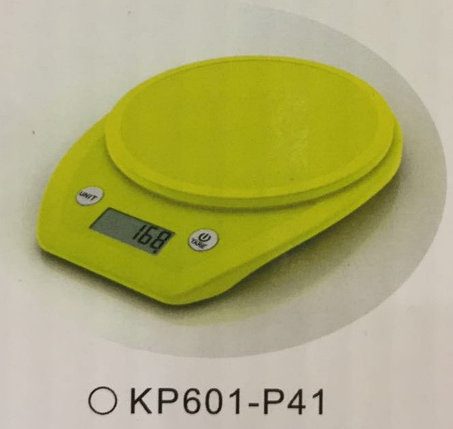 Весы кухонные  Electronic Kitchen Scale - KP601 Светло-зелёный КР601-Р41, фото 2