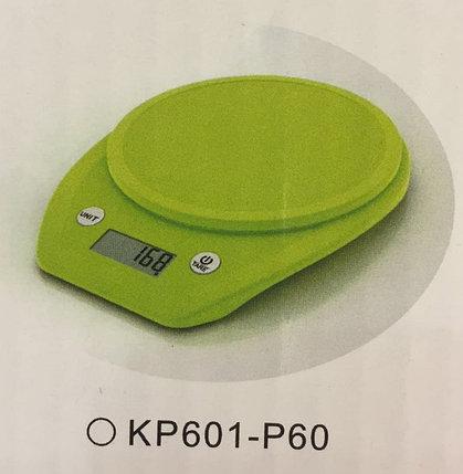 Весы кухонные  Electronic Kitchen Scale - KP601 Зелёные КР601-Р60, фото 2