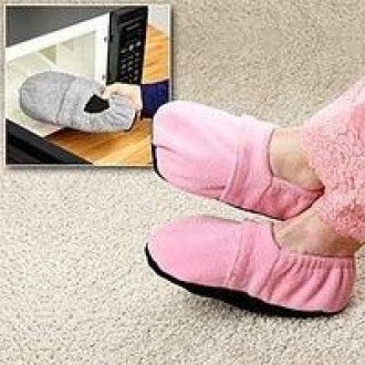 "Тапочки грелки ""Microwave Slipper"" (М) (для всей семьи), фото 2"
