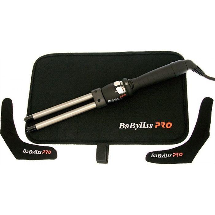 Щипцы двойные BaByliss BAB2282ТТЕ, 55 Вт, 13 мм, титаново-турмалиновое покрытие, 25 режимов