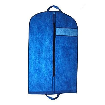 Чехол для одежды 100х60 см, цвет синий, фото 2