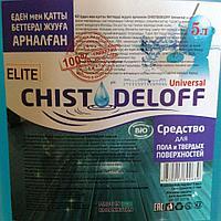 Универсальное средство для твердых поверхностей CHISTODELOFF Elit 5 л