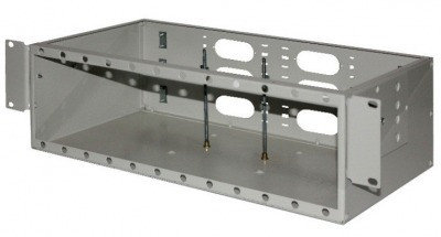 ШКО-С-3U 96  Пустая коробка в комплекте с клипсой-заклепкой (24шт) и пластиковым хомутом (2шт), фото 2