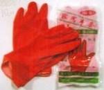 Перчатки латексные красные упаковка