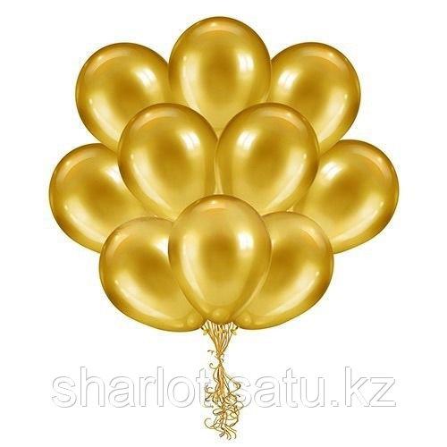 Золотые шары 30см
