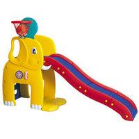 """Горка """"Слон"""" с баскетбольным кольцом Haenim toys HN-715, фото 1"""