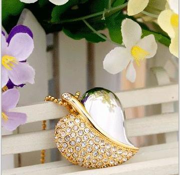 Флешка Золотое сердце 8 гб