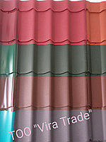 Металлочерепица Монтеррей Матовая Корея Шоколад Ral 8017