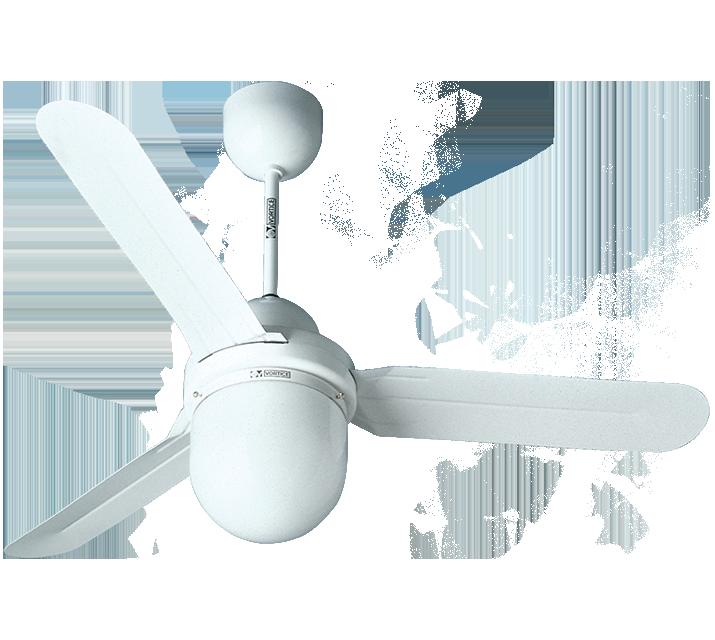 Потолочный вентилятор со светильником купить NORDIK DESIGN 1S/L 90/3