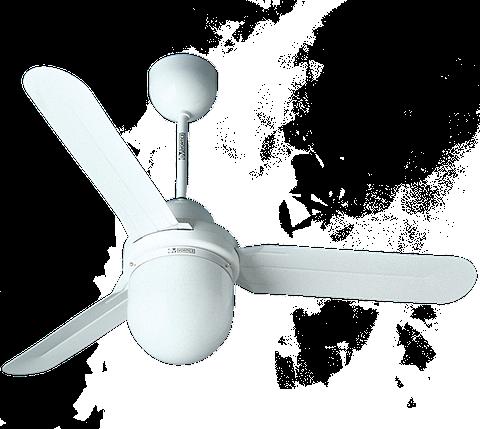 Потолочный вентилятор со светильником купить NORDIK DESIGN 1S/L 90/3, фото 2