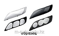 Защита фар (очки) на Hyundai Tucson, ix35 2010 -\темные,прозрачные