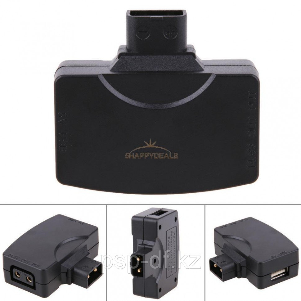Адаптер D-Tap P-Tap To USB Adapter Connector 5V For Anton/Sony V-mount Camera Battery