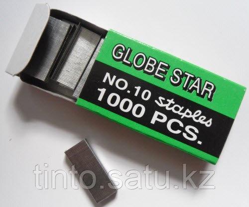 Скобы для степлера №10  GLOBE STAR
