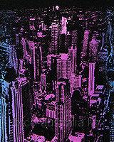 Футболка NIGHT CITY (Светится в темноте и ультрафиолете), фото 1