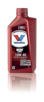 Моторное масло Valvoline MaxLife 10W40 1 литр