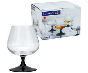 Набор бокалов для коньяка Luminarc Domino 4шт. (410 мл.)