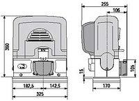 Автоматика для откатных ворот BK-221 с высокой интенсивностью работы., фото 1