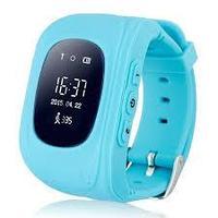 Умные Детские GPS часы Q50 (oled экран) голубые