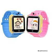 Детские умные GPS часы Q200