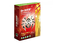 Антивирус Dr.Web Security Space Gold 2 года 1 ПК