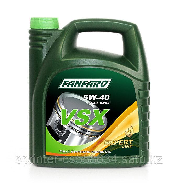 Моторное масло FANFARO VSX 5W40 5 литов